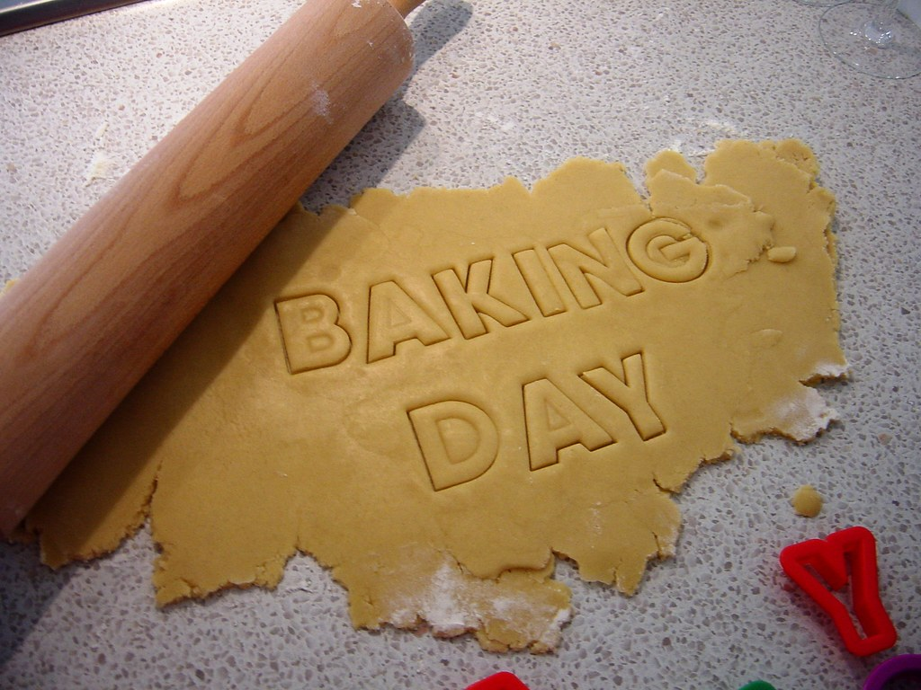 Alphabet Cookies 1: The Recipe