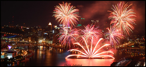 Fireworks July 4th in Pittsburgh!