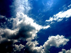 cloudlight (preacha_tink) Tags: blue light sky beautiful clouds outside outdoors open bluesky opensky skyopen