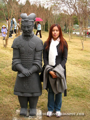 me and Terra Cotta Warrior