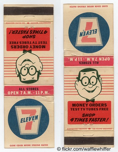 7-Eleven Matchbook