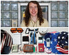 Brian Diptych (J Trav) Tags: portrait money coffee sunglasses keys persona ipod phone wallet change whatsinyourbag pens cigarettes fannypack diptychs d40 jtrav essentialitems waiterpad theitemswecarry americanhat jasontravisphoto americanshorts