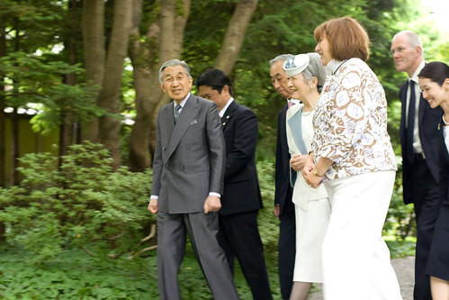 Emperor and Empress of Japan - UBC Nitobe Memorial Garden