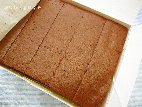 聖保羅長崎蜂蜜蛋糕切片