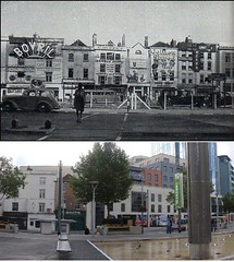 Broad Quay/The Centre - pre 1945 and 2009 (ricksphotos101) Tags: uk england bristol geotagged thecentre thenandnow bovril thennow bs1 broadquay historybank geo:lat=51452937 radissonblue geo:lon=2597505