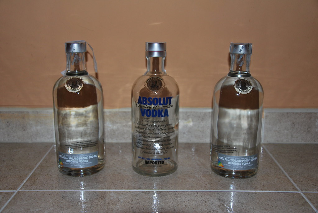 Absolut No Label - Comparativa