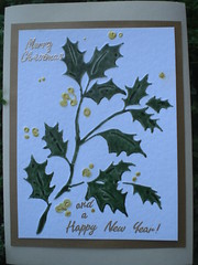 Christmas 2009 04 (Gregelope) Tags: christmas cards cuttlebug