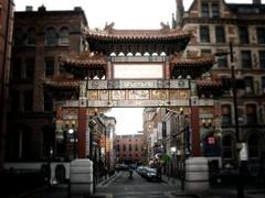 Chinatown gate con GIMP