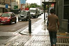 LONDON IN THE RAIN, FRIDAY AFTERNOON, 17 JULY 2009 (louisbickett) Tags: summer england men dogs rain children women lexington ky streetphotography modernarchitecture fridayafternoon londonintherain archivelouiszoellarbickettii louiszoellarbickettii 17july2009