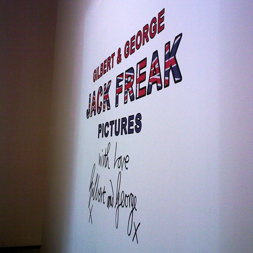 jack freak pics by gilbert & george by you.