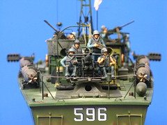 IMG_5357 PT-596 (saraocraft) Tags: scale boat model military wwii plastic pt naval italeri pt596 elco80 modelshipwrights