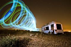 Whirlwind of light (Jos Andrs Torregrosa) Tags: noche nocturna caravana linterna sigma1020 canon40d josetorregrosa joseadnres largerexposure