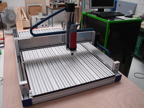 CNC Milling machine almost ready for a test drive