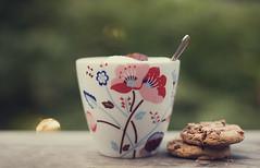 Coffee II (Morphicx) Tags: coffee cookie chocolate chip yummie