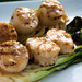 Grilled Scallops with Baby Bok Choy & Soy-Ginger Beurre Blanc by Another Pint Please...