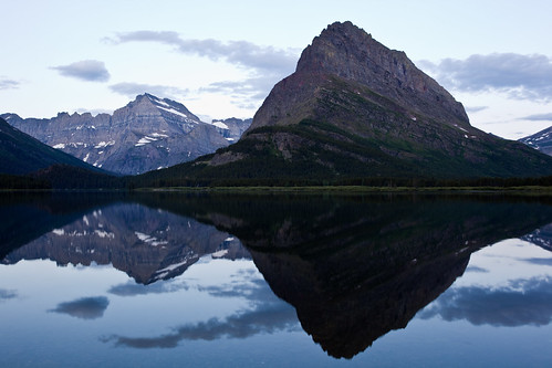 Swiftcurrent Lake at Dawn