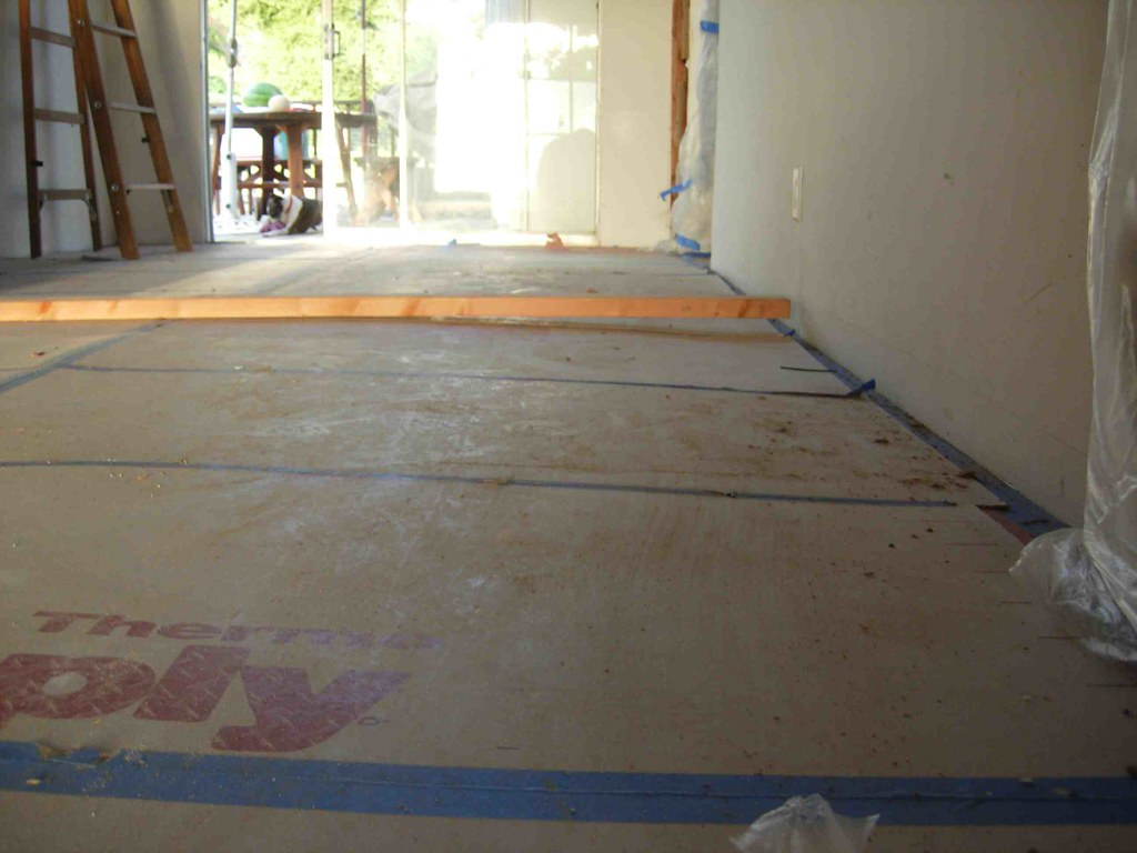 Remodel Week 5 Oh, the Sloping Floor