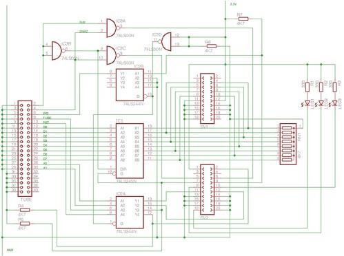 BBC Micro Ethernet Schematic V1.1
