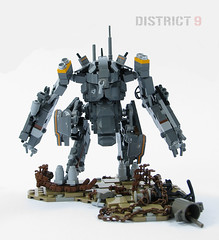 District 9 Mecha Suit (mondayn00dle) Tags: lego alien mecha mech prawn district9 foitsop