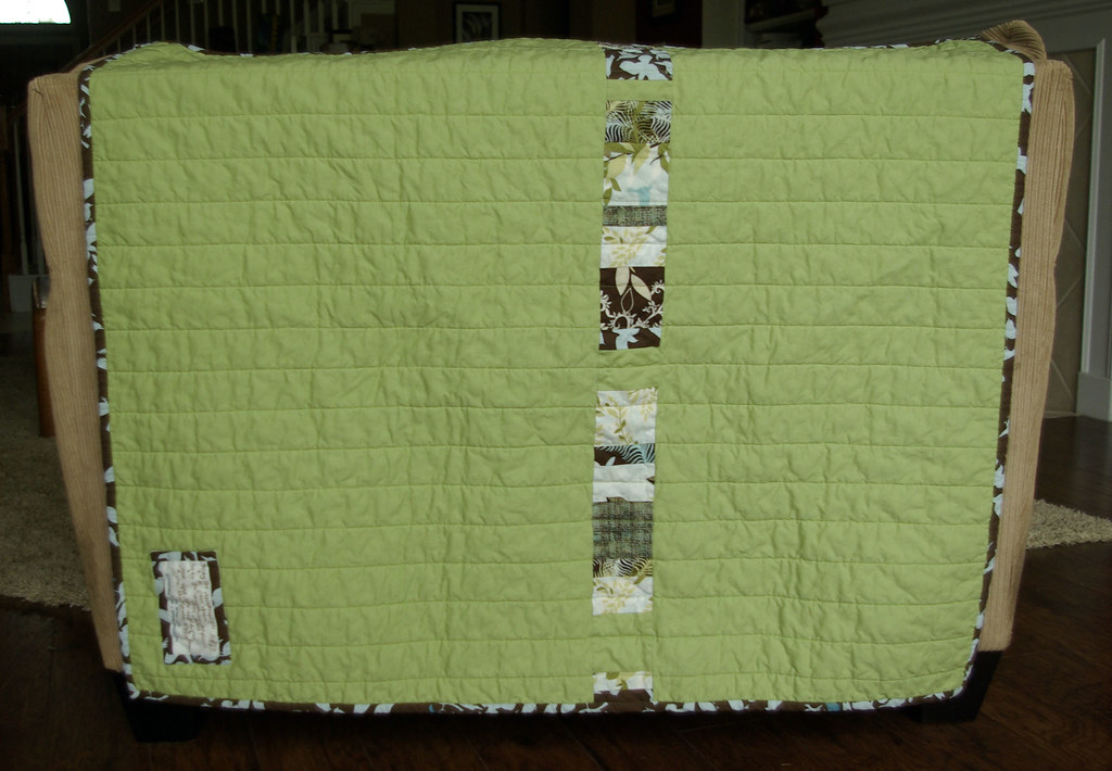 Sweetpea's Quilt Back