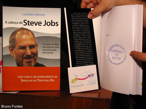 "Livro ""A Cabe?a do Steve Jobs"" publicando sob demanda"