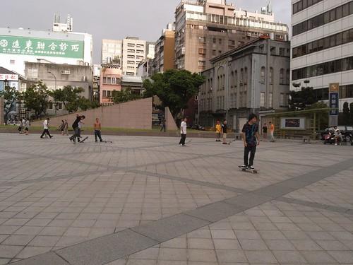 你拍攝的 11滑板廣場。