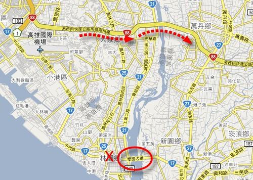 五甲系統交流道(國道一號,台88線)
