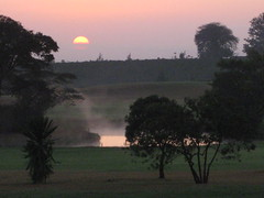 Misty Kenya sunrise (thomas pix) Tags: africa sunrise kenya nairobi windsorhotel eyefi