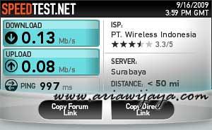 Setelah Internet Cell Boost Lite