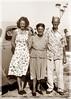 Erla, Beth & Earl Parkman (ericdege) Tags: portrait blackwhite grandmother grandfather tint aunt restoration familyphotos oldphotos scanfromnegative photoshopelements5