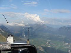 Probleme.... (Roland Henz) Tags: inn kaiser 2009 fliegen inntal segelfliegen segelflug unterwössen pendling kaisergebirge 19092009 überströmung