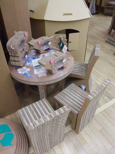 cardboard fun base