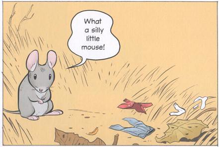 3963974015 846740965f Review of the Day: Little Mouse Gets Ready by Jeff Smith