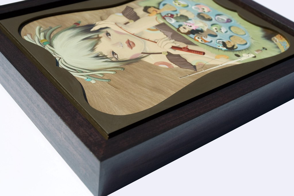 Pakupaku (framed)