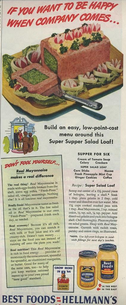 mayo salad loaf