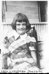 1951 05 22 -  Chris with Chicken pox 1 (thisisbossi) Tags: blackandwhite bw usa vintage us blackwhite unitedstates 1950s chickenpox christinedaugherty chrisrichards christinerichards chrisdaugherty