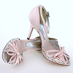 Shoes for the wedding and bridesmaids.