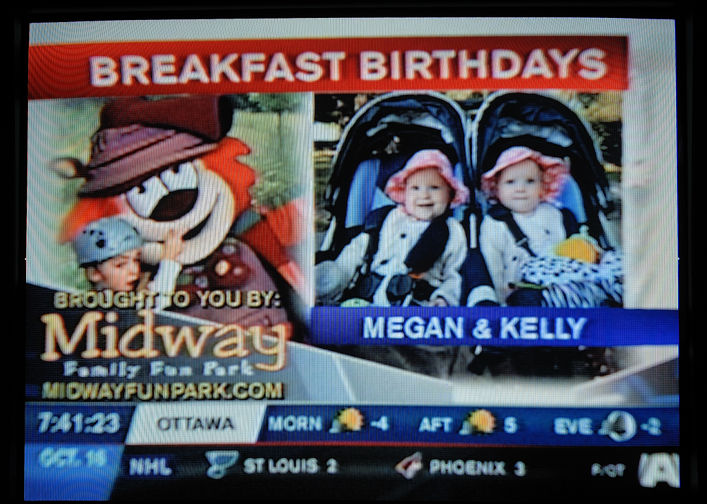 Happy Birthday, Kelly & Megan!