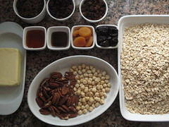 Ingredients for Flapjacks