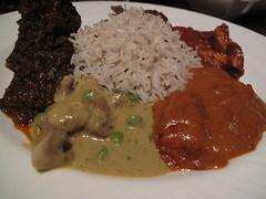 Indian Dinner - Yantra, Singapore