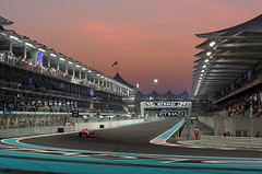 its not about the race, its all about the vision of those who made this thing come true - he says! (Abdullateef Al Marzouqi) Tags: f1 abudhabigrandprix laati lweishamilton abudhabiyasmarinacircuit