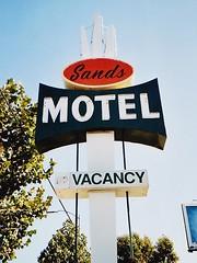 Sands Motel sign San Jose CA (hmdavid) Tags: california sign architecture sanjose signage roadside midcentury sandsmotel