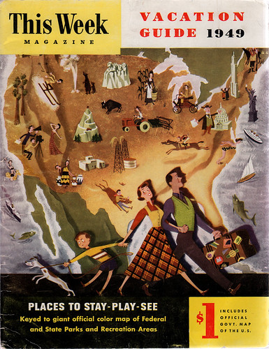 This Week Magazine Vacation Guide 1949
