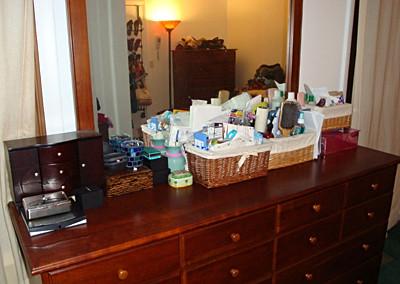 clean dresser