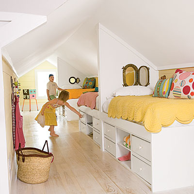 attic bunks coastal living