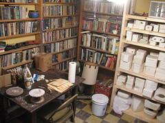 The new ceramic studio room