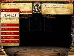 DaVinci's Gold Casino Lobby