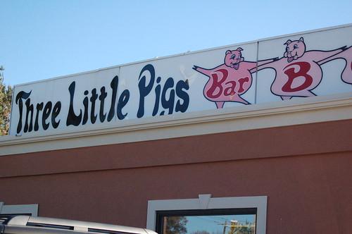 Three Little Pigs BBQ, Memphis, Tenn.