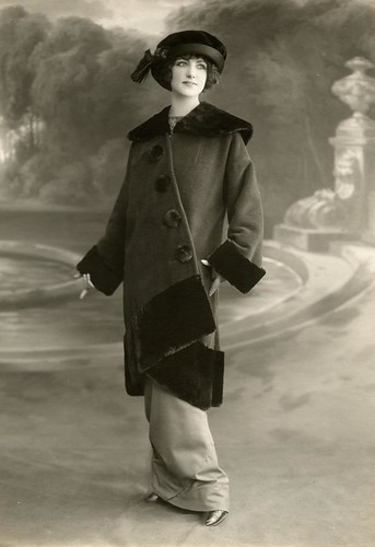 Parijse wintermode 1912 / Paris winter fashion 1912