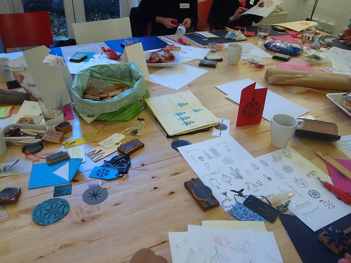 Rubber stamp workshop